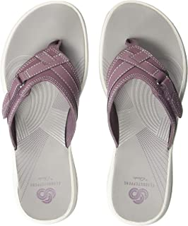 6b37318032ce Amazon.com  Purple - Flip-Flops   Sandals  Clothing