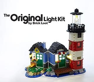 Brick Loot LED Lighting Kit for Lego Creator Lighthouse Point Set - 31051 - Custom Designed - Handmade - Durability Tested