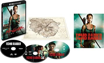 [Amazon.co.jp Limited] Tomb Raider: First Mission, 4K Ultra HD & 3D & 2D Blu-ray set (First Print / Set of 3 / Island of Illusion Map Included) (Original Postcard Included) (Blu-ray)