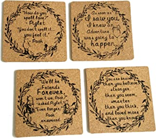 Classic Winnie The Pooh Drinks Coasters - 4