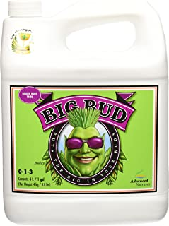 Advanced Nutrients GL525050-15 Big Bud Liquid Fertilizer, 4 Liter, Brown/A