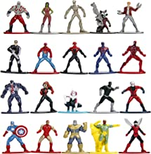 """Marvel 1.65"""" Die-cast Metal Collectible Figures 20-Pack Wave 1, Toys for Kids and Adults"""
