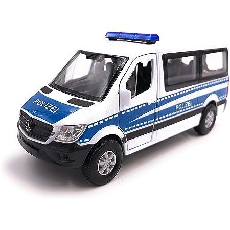 Onlineworld2013 Sprinter Panel Van Zufällige Farbe Modellauto Auto Maßstab 1 34 Lizensiert Auto