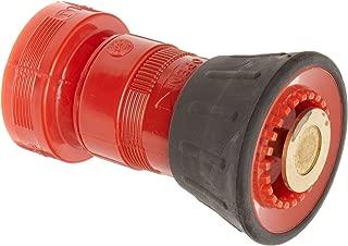 Dixon Valve FNB150NST Thermoplastic Fire Equipment, Fog Nozzle with Bumper, 1-1/2
