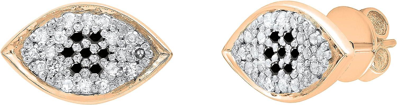 Dazzlingrock Rare Collection Round Gemstone White 70% OFF Outlet Diamond Ladies Ey