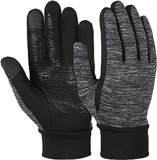 Gants Thermostables Gants pour Sport Gants Homme Gants d/'hiver Tactile Gants de Doublure Enpeluche Ticot/és