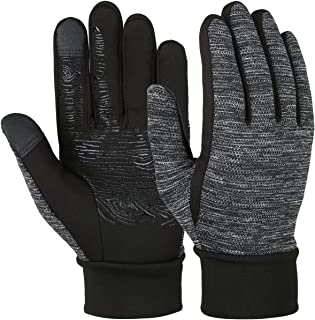 Winter Gloves Touch Screen Driving Gloves Anti-slip Cycling Gloves Warm Fleece Gloves for Men Women
