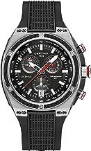 Certina DS Eagle Chronograph GMT Black Rubber Men's Watch C0237392705100