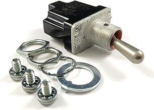 Honeywell 1TL1-2 SPST Non-Locking Toggle Switch (MS24523-22)