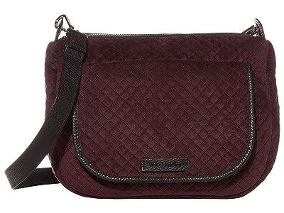 Vera Bradley Carson Mini Shoulder Bag (Blackberry Wine) Cross Body Handbags