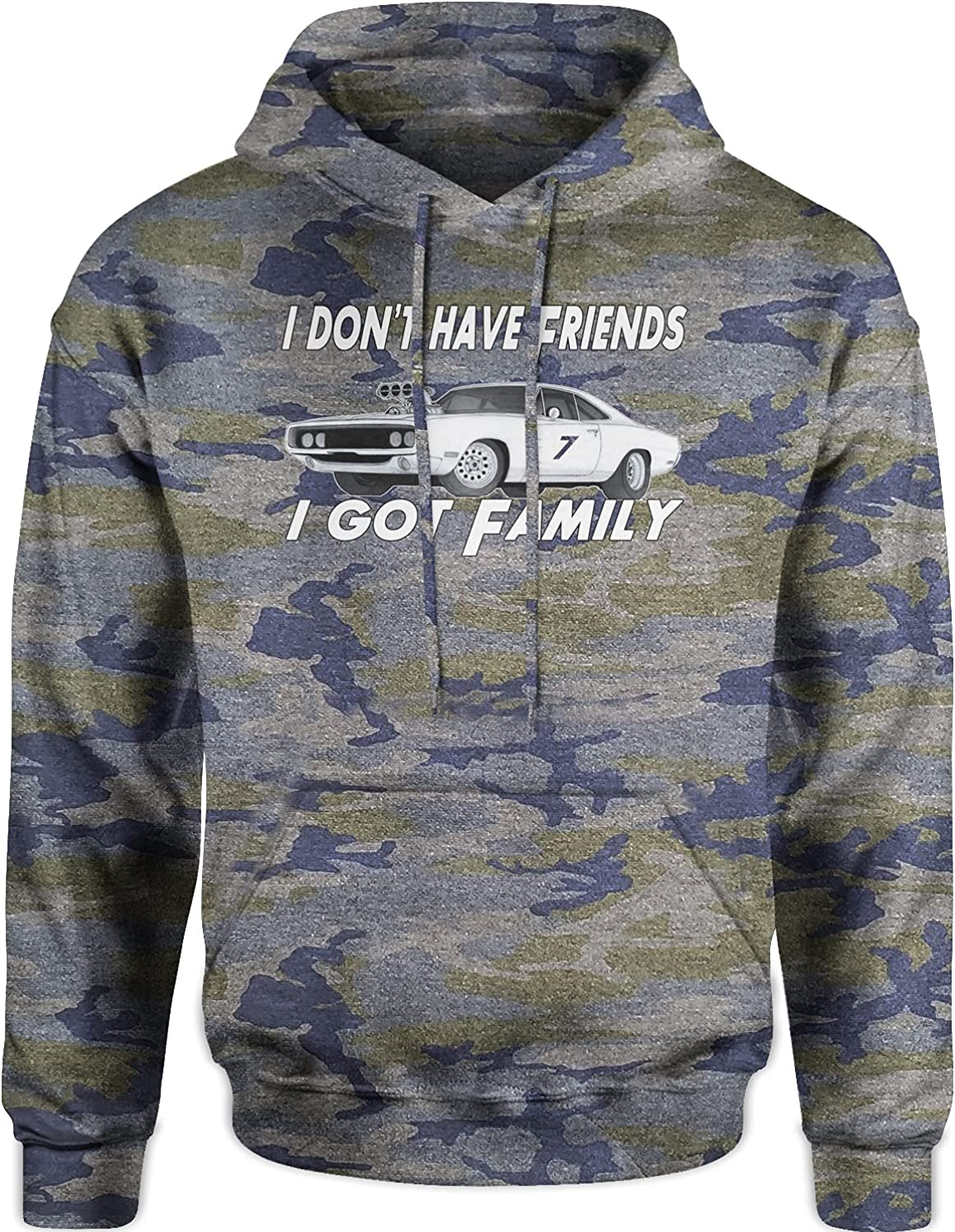 Expression Tees I Don't Have Friends I Got Family Unisex Adult H