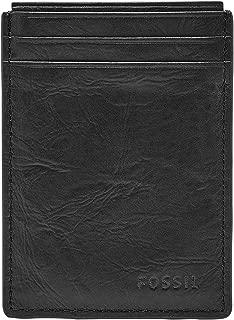 Men's Neel Leather Magnetic Card Case Wallet