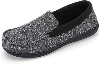 Men's Moc Slipper with SILVADUR Anti-Odor Fabric