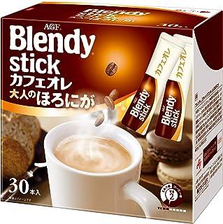 Blendy Stick Cafe Au Lait Slightly Bitter Taste 0.42oz X 30pcs