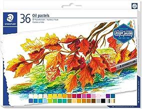 Staedtler Karat Studio Quality Oil Pastels Set of 36 Color-Intensive Colors in Heavy-Duty Cardboard Storage Case (2420C36)