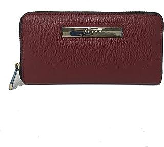 Portafoglio New Grace L Zip Wallet PU Burgundy Col. Block