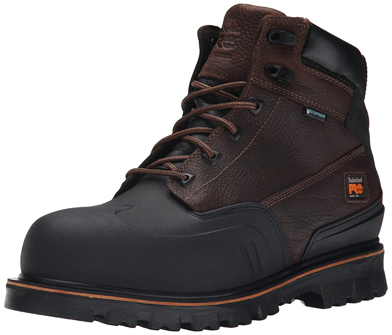 Timberland PRO Men's 6 Inch Rigmaster XT Steel-Toe Waterproof Work Boot
