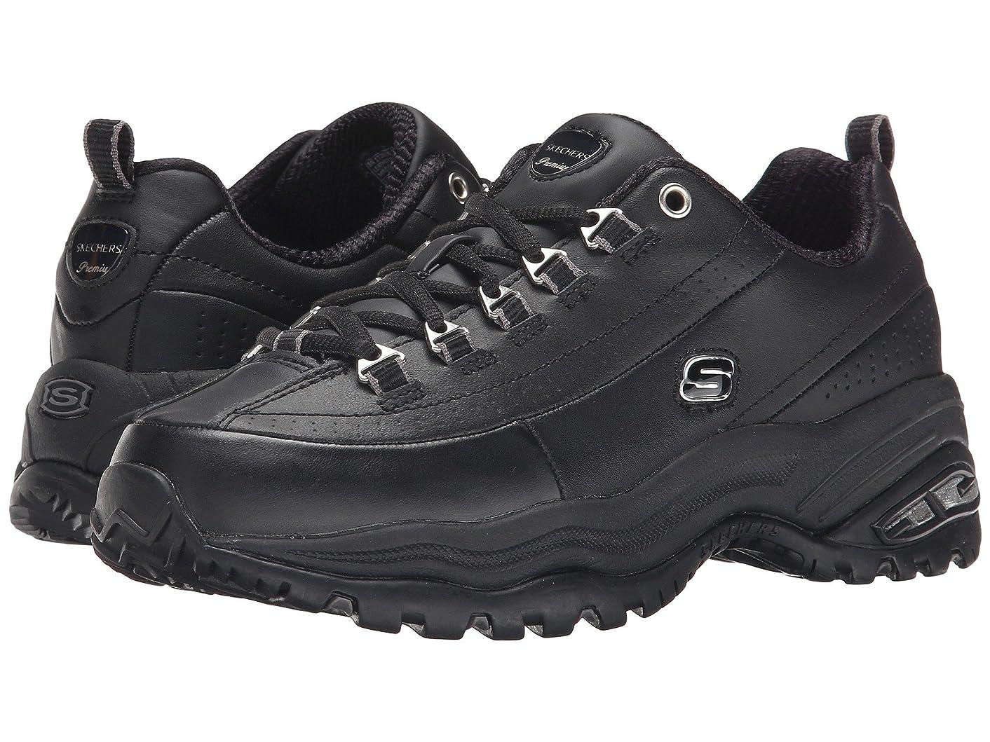 作者原油プロペラレディーススニーカー?ウォーキングシューズ?靴 Premiums Black/Black Leather 6.5 (23.5cm) B [並行輸入品]