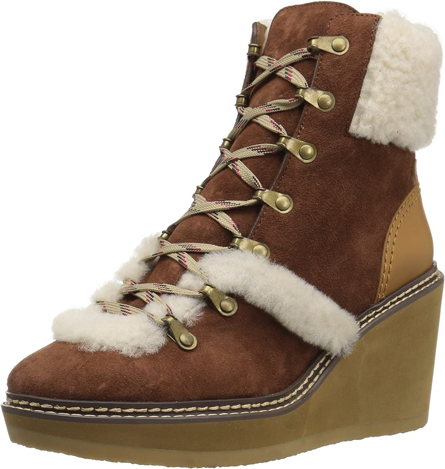 SEE BY CHLOé Womens Eileen Wedge Boot W Shearling Fashion Boot