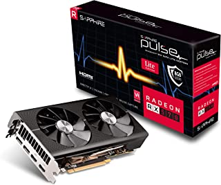 Sapphire 11266-75-20G Radeon Pulse RX 570 8GB GDDR5 Dual HDMI / Dual DP OC (UEFI) Tarjeta gráfica PCI-E