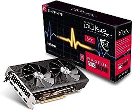 Sapphire Technology 11266-75-20G Radeon Pulse RX 570 8GB GDDR5 Dual HDMI / Dual DP OC (UEFI) PCI-E Graphics Card