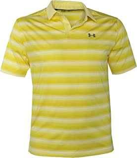 Men's Performance Golf Polo CoolSwitch Shirt Striped Top
