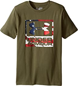 Under Armour Kids - UA Big Flag Logo Tee (Big Kids)