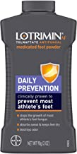 Lotrimin AF Athlete's Foot Daily Prevention Medicated Foot Powder, Tolnaftate Antifungal, Clinically Proven Prevention of ...