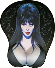 Elvira Mistress Of The Dark Official Mouse Pad With Silicon Gel Wrist Rest