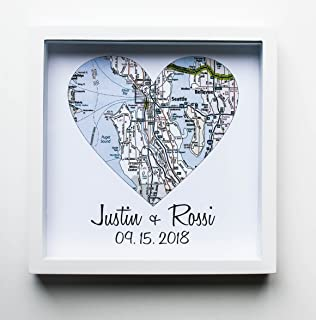 heart map frame