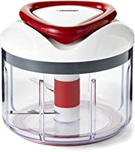 Zyliss 1339 Food Processor, White/Red