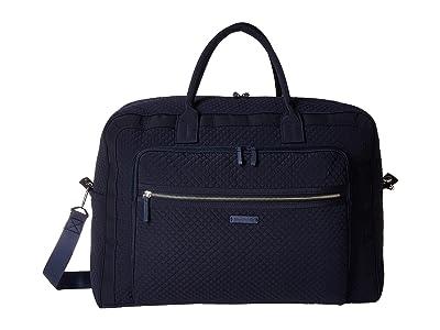 Vera Bradley Iconic Grand Weekender Travel Bag (Classic Navy) Weekender/Overnight Luggage