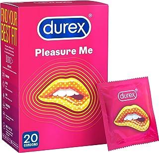 Durex Pleasure Me Condoms, Pack of 20 (Packaging May Vary