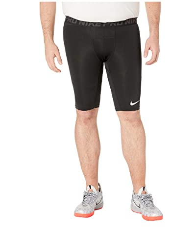 Nike Big Tall Pro 9 Training Shorts (Black/Anthracite/White) Men