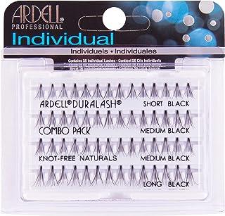 Ardell Duralash Knot-Free Combo Individual Naturals Lashes, Black