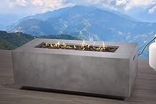 Century Modern Outdoor Fire Pit [CM-1012C] (Natural Concrete)