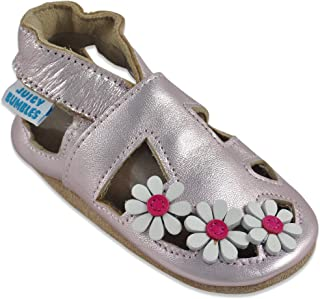 45cef9aad2ec9 Sandales Bébé Cuir Souple - Chaussons Cuir Bébé - Chaussures Bebe Fille -  Chaussures Enfant Garçon