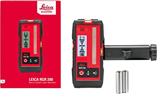 Leica Geosystems 866090 LINO RGR200 Line Laser Receiver - Red or Green Beam Compatible