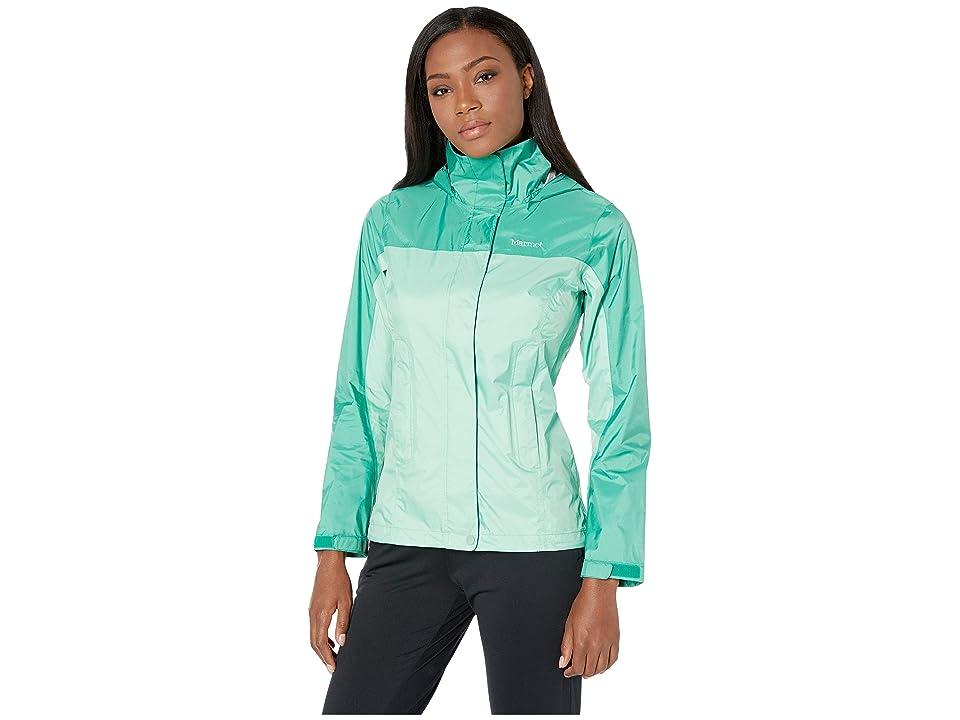 Marmot PreCip(r) Eco Jacket (Double Mint/Verde) Women
