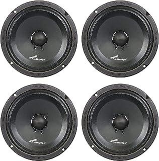 Audiopipe APMB-8SB-C 8 Inch 250 Watt MAX, 125 RMS, 8 Ohm Low/Mid Frequency Midrange Driver, Car Stereo Loudspeaker with KS... photo