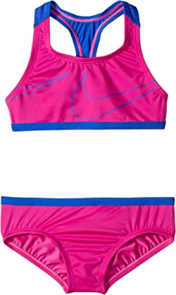 Nike Kids Macro Swoosh Racerback Sport Top Brief Set (Big Kids)