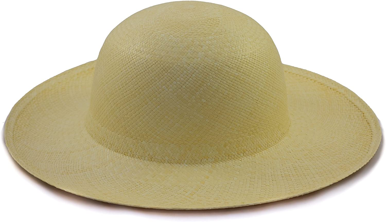 Khaki Milopon Panama Hut Casual Cap M/änner Runde Sonnenhut Strohhut f/ür Outdoor Sports Camping Strand Fr/ühling Sommer