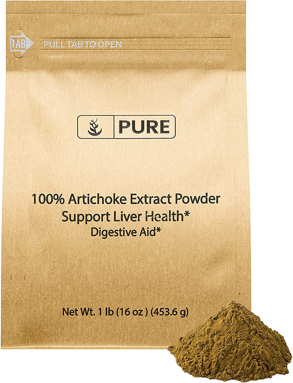 OFFicial shop Artichoke Extract Powder 1 lb System Liver Free shipping on posting reviews Health Digestive