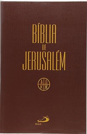Bíblia de Jerusalém - Média Capa Cristal