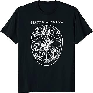 Materia Prima Alchemy Rosecrucianism Occult T Shirt