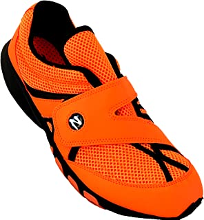 ZEKO Lightweight Fishing, Boating, Outdoor and Athletic Drainable Orange Shoe