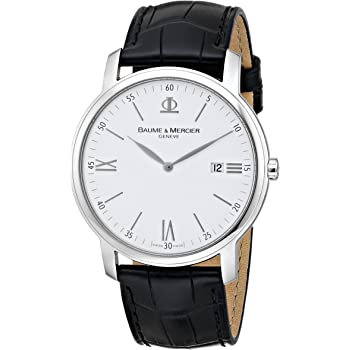 Baume & Mercier Men's 8485 Classima Swiss Date Watch