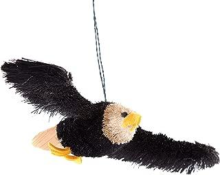 GALLERIE II 8-in. Buri Fiber Ornament, Flying Eagle