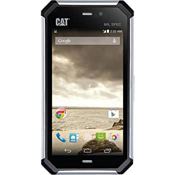 Cat S50 8GB Unlocked GSM 4G LTE Military Grade + IP67 Quad-Core Smartphone - Black