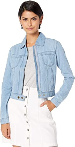 Cotton Silk Chambray Jacket